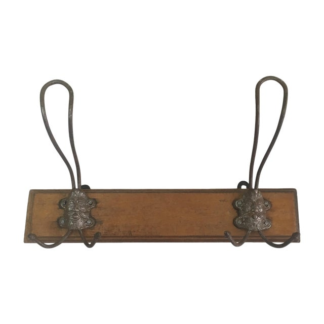 French Face Coat/Hat Rack - Image 1 of 5