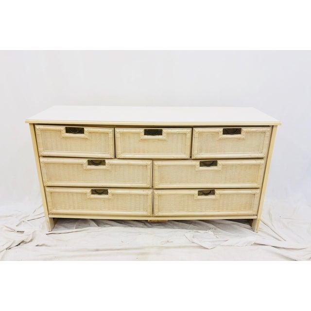 Vintage Hollywood Regency Style Dresser For Sale - Image 10 of 10