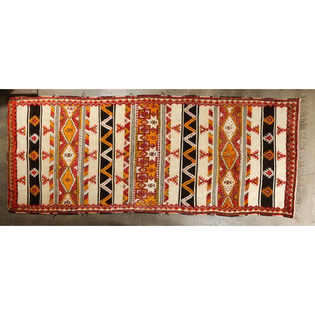 Moroccan Vintage Tribal Rug For Sale - Image 10 of 10