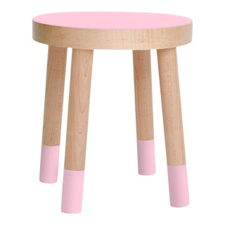 Poco Kids Chair in Maple With Pink Finish For Sale