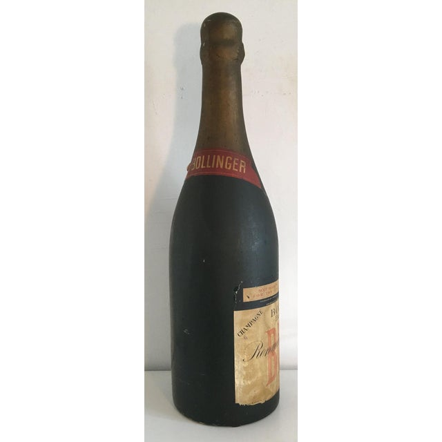 Giant 3ft 3in Tall French Champagne Bottle - Shop Display - Image 3 of 9