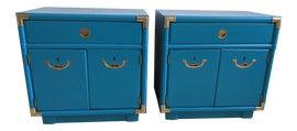 Image of Turquoise Nightstands
