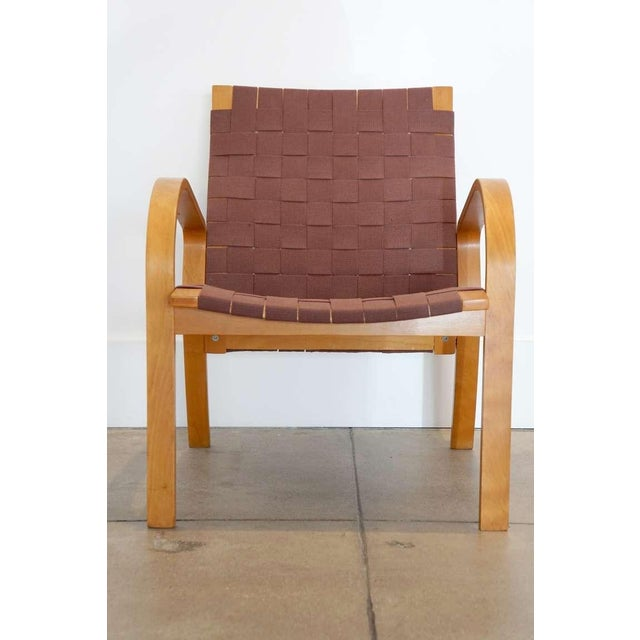 Bruno Mathsson 1950s Vintage Bentwood Chair For Sale - Image 4 of 5