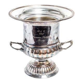 Antique English Silver Champagne Bucket For Sale