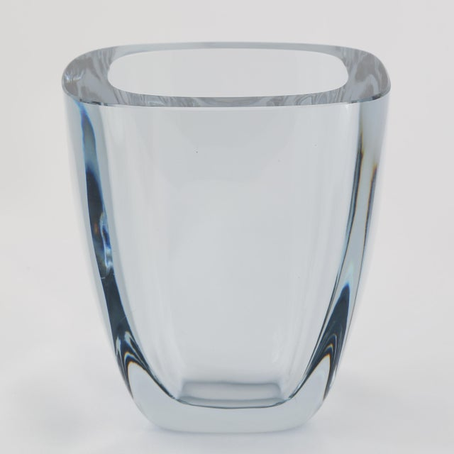 Incredible 1950s Vintage Strombergshyttan Glass Vase Decaso