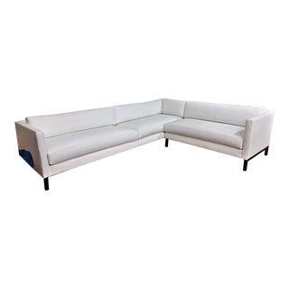 Modern Shane Platform Sectional Sofa For Sale