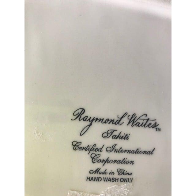 1980s 1980s Vintage Raymond Waites Cockatoo Pitcher For Sale - Image 5 of 6