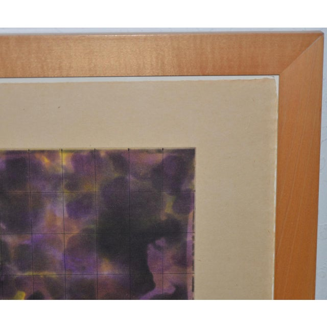 1990s Yutaka Yoshinaga Color Etching W/ Spit Bit Aquatinti C.1996 S/N Edition of 40 For Sale - Image 5 of 8