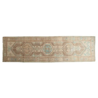 "Vintage Distressed Serab Rug Runner - 2'11"" X 10'5"""