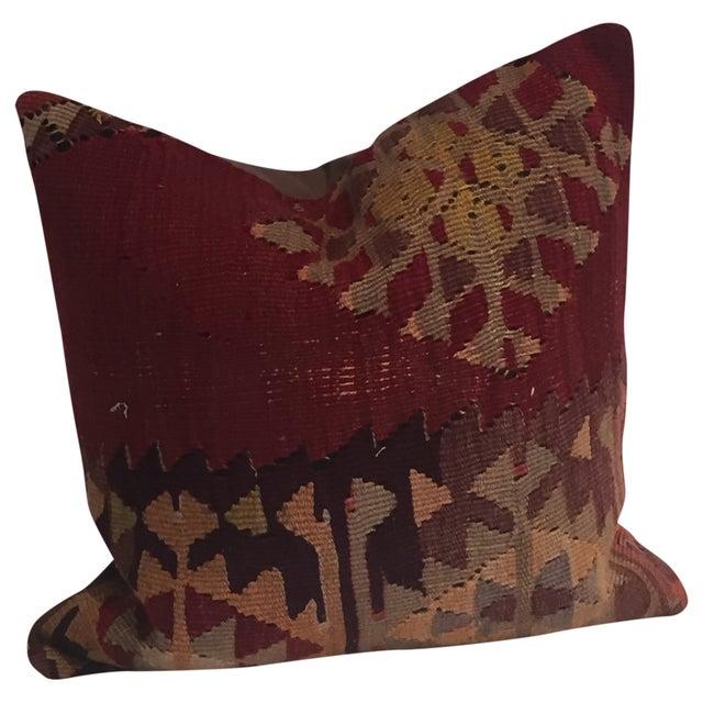 Vintage Kilim Pillow - Image 1 of 2