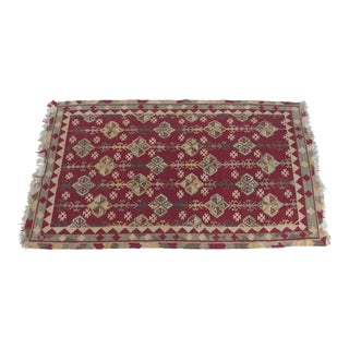 "Handmade Kilim Rug - 7'8"" X 5'3"" For Sale"