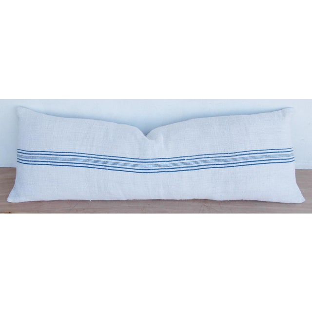Long French Homespun Body Pillow - Image 6 of 8