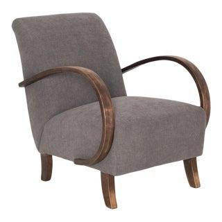 1950s Czech Mid-Century Modern Armchair For Sale