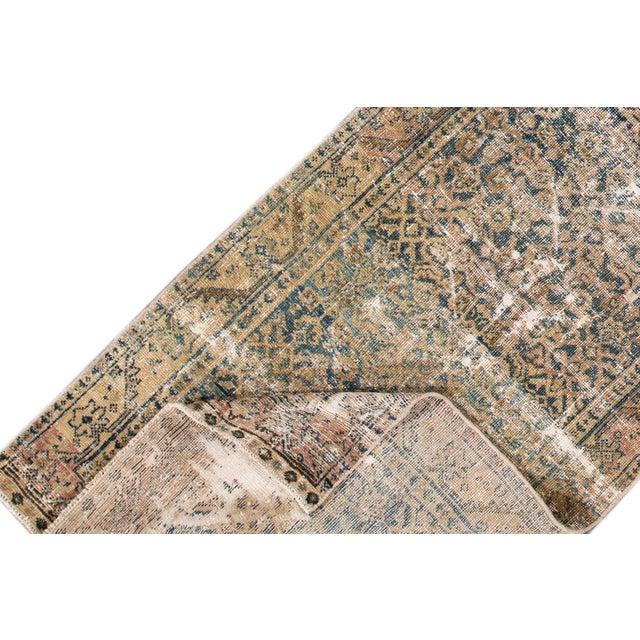"Islamic Apadana-Antique Persian Distressed Rug, 3'0"" X 11'7"" For Sale - Image 3 of 10"