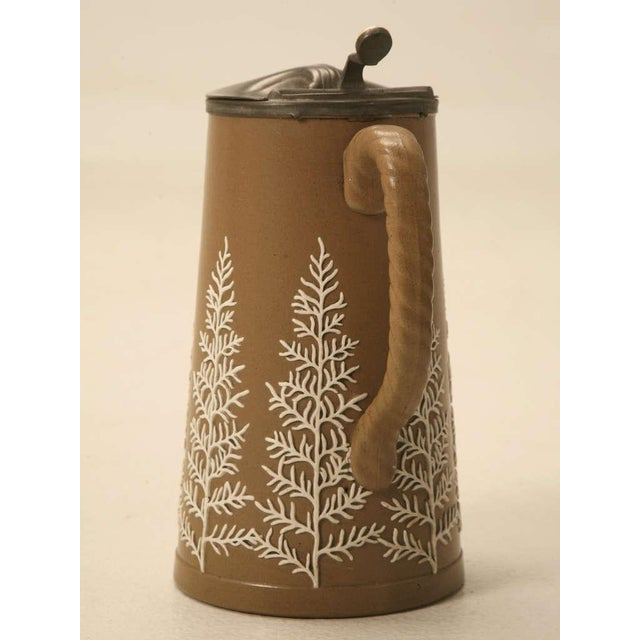 Mid 19th Century 19th C. Antique English Polished Basalt Jug For Sale - Image 5 of 10