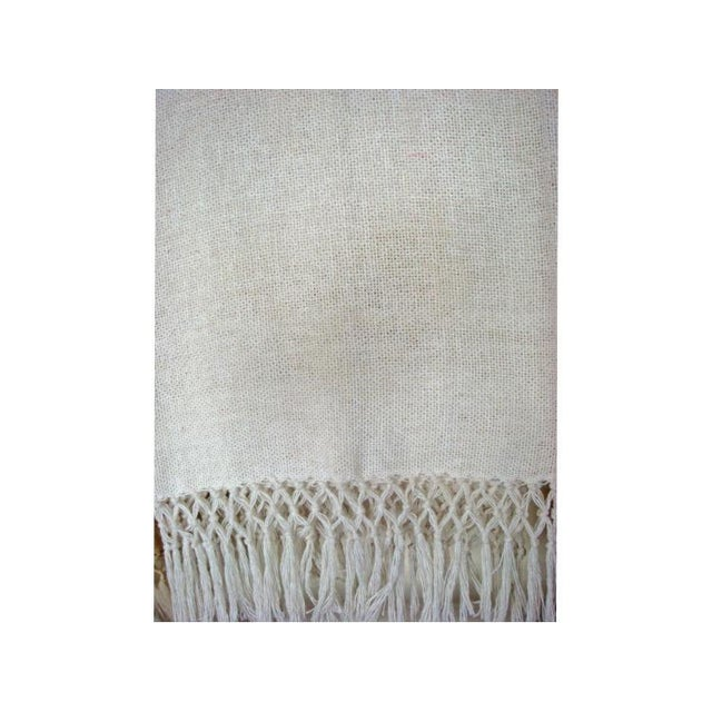 Natural Merino Wool Drapes/Bed Covers – A Pair - Image 7 of 7
