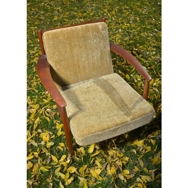 Mid-Century Danish Grete Jalk Lounge Chairs - A Pair - Image 5 of 7