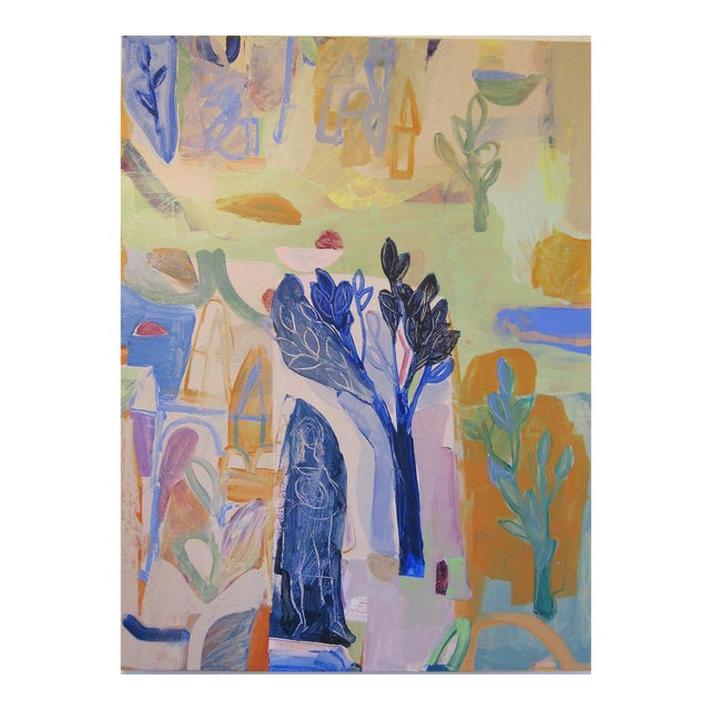 Lime Tree Painting by Andrew Portwood For Sale