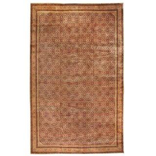Antique Oversize Indian Carpet For Sale