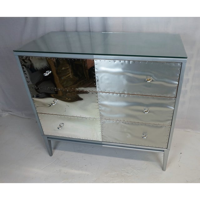 Paul McCobb Planner Group Brutalist Revision Dressers - A Pair For Sale - Image 9 of 10