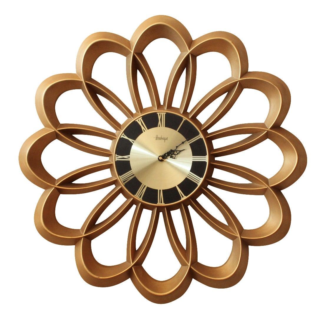 Burwood Atomic Arabesque Wall Clock   Chairish
