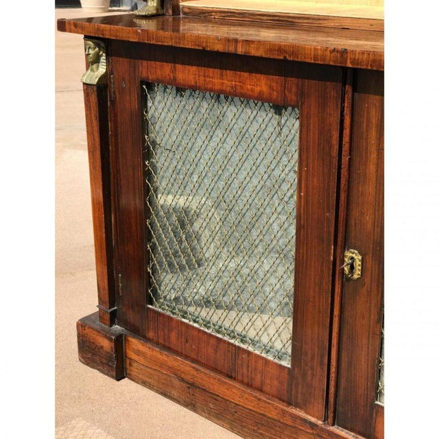 Mid 19th Century 19th C. French Rosewood Bookcase For Sale - Image 5 of 6