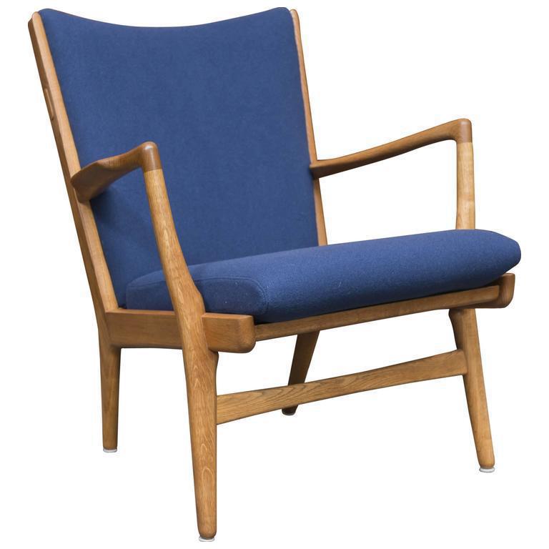 Hans J Wegner Mid Century Model Ap 16 Lounge Chair