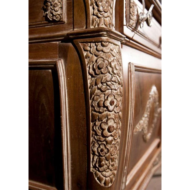 French Empire Style Marble-Top Sideboard For Sale - Image 5 of 9
