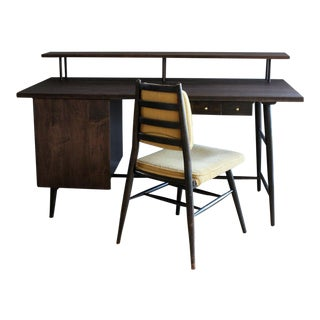 Paul McCobb Predictor Group Desk and Chair - 2 Pieces