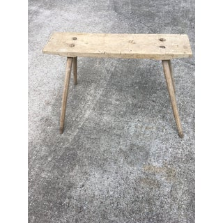 Antique Fireside Bench Preview