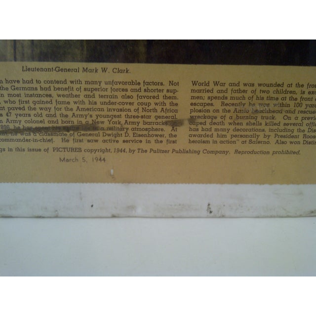 Vintage World War II News Print For Sale In Pittsburgh - Image 6 of 8