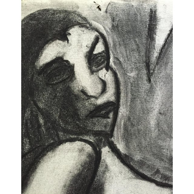 1950s Charcoal Drawing Bay Area Artist Female Nude For Sale In New York - Image 6 of 7