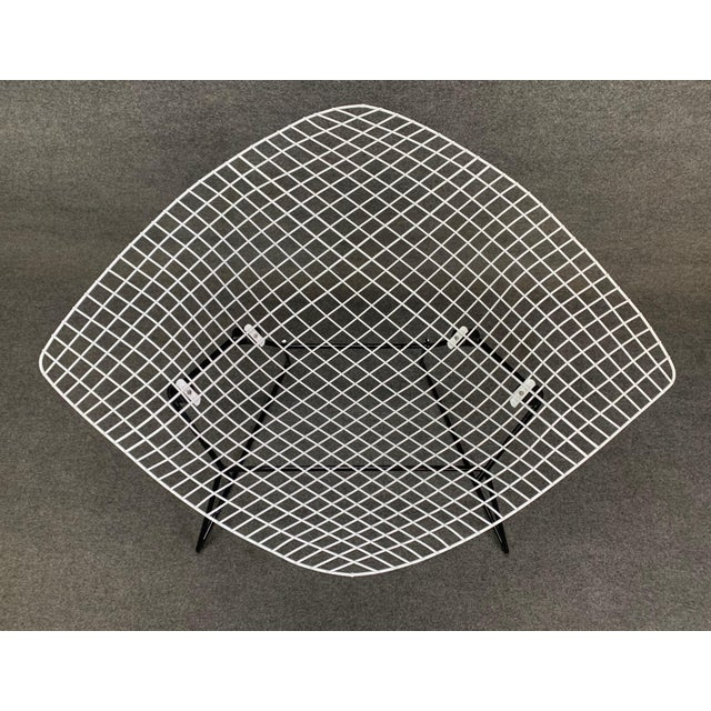 Vintage Mid Century Modern Large Diamond Chair by Harry Bertoia for Knoll For Sale In San Diego - Image 6 of 11