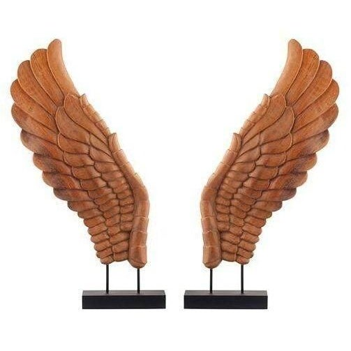 Wooden Décor Wings I, Pair - Image 1 of 4