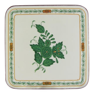 Pimpernel Herend Chinese Bouquet Green Coasters - Set of 6 For Sale
