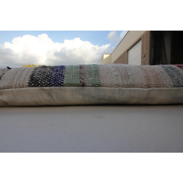 Dog Beds That Look Like Rugs: Vintage Turkish Patchwork Rug Floor Pillow & Dog Bed 36