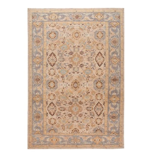 21st Century Modern Sultanabad Oversize Wool Rug 13 X 19 For Sale