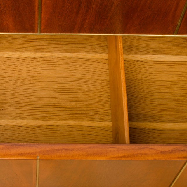 Mid-Century Modern 1960s Mid-Century Modern American of Martinsville Walnut Chest For Sale - Image 3 of 12