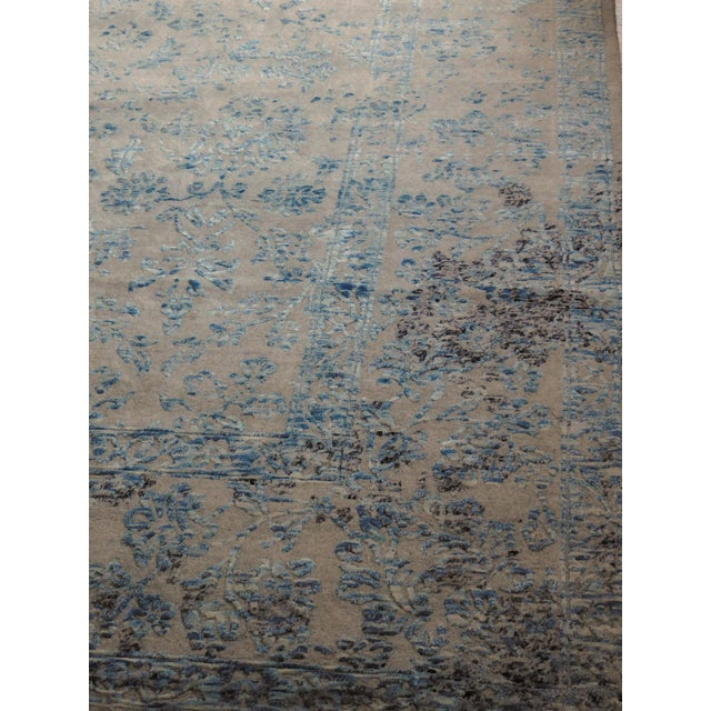 Hand Knotted Indian Rug - 8′ × 10′ - Image 4 of 11