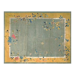 "Chinese Art Deco Rug - 8'9""x11'6"" For Sale"