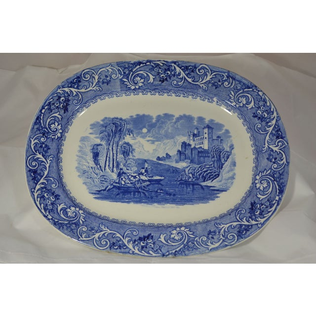 Antique Staffordshire Serving Platter - Image 2 of 4