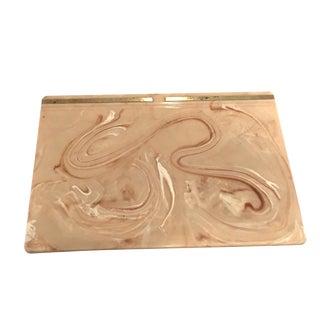 Vintage Swirl Desk Blotter/Protector For Sale