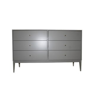 Vasily Lacquered 6-Drawer Dresser For Sale