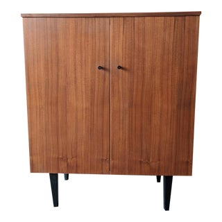 Perfect Little Vintage Teak Bar/Storage Cabinet. Made in Denmark
