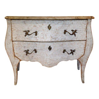 Painted Bombay Commode For Sale