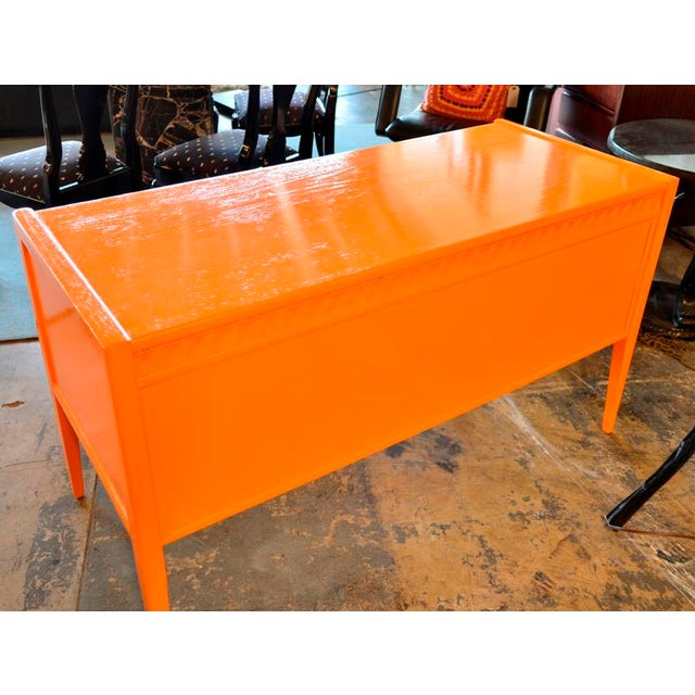 Mid-Century Modern 1970s Vintage Broyhill Mid Century Modern Desk For Sale - Image 3 of 6