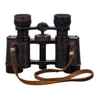 """French Porro Prism """"American Style"""" Binoculars by Palomar C.1950 For Sale"""