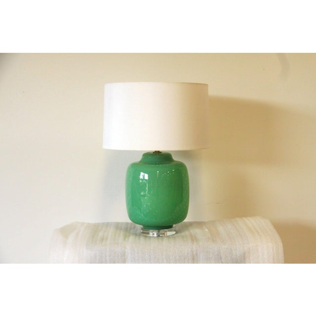 Green Gus Lamp by Emporium Home - Image 3 of 3
