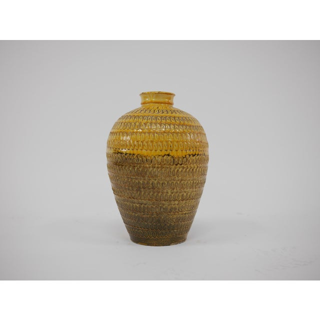 1930s Large Floor Vase by Svend Hammershøi for Herman a Kahler Keramik For Sale - Image 5 of 8