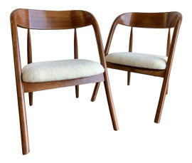 Image of Curved Side Chairs